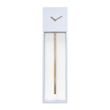 Large Uaigong Pendulum Clock - White & Gold
