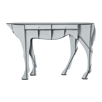Elisee Mobilier De Compagnie - Pure Breed Console Table - Matt Grey