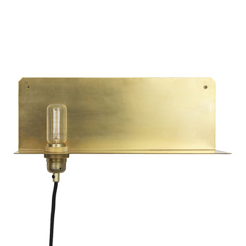 90° Wall Light - Brass