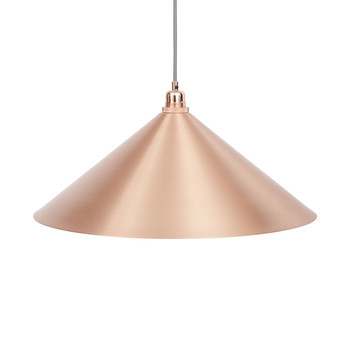 Copper Cone Pendant Light