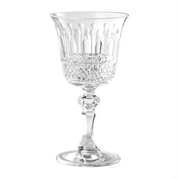 St Germain Acrylic Wine Glass - Clear