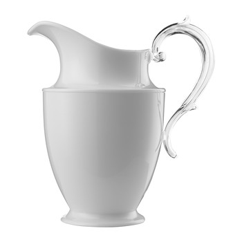 Federica Acrylic Pitcher - White