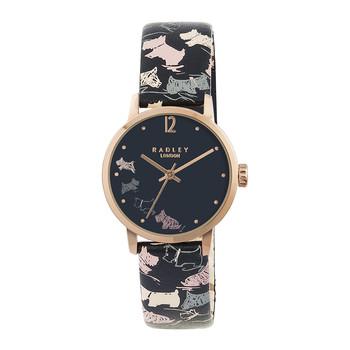 Doodle Dog Printed Strap Watch