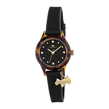 'Watch It!' Charm Watch - Tortoise Shell