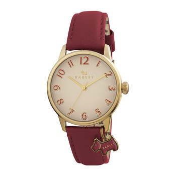 Blair Charm Watch - Red