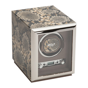 Exotic Single Watch Winder - Tan