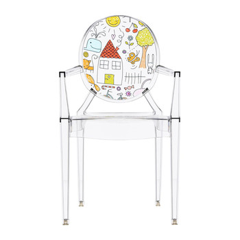 Children's Lou Lou Ghost Chair - Sketch
