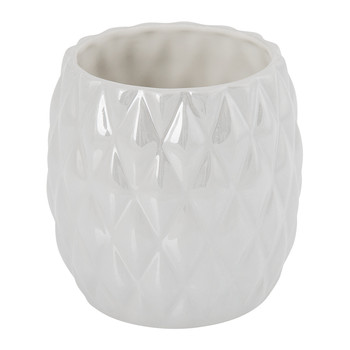 Black Tie Toothbrush Holder - Pearl Grey