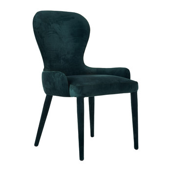 Velvet Auntie Chair - Green