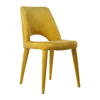 Velvet Holy Chair - Yellow