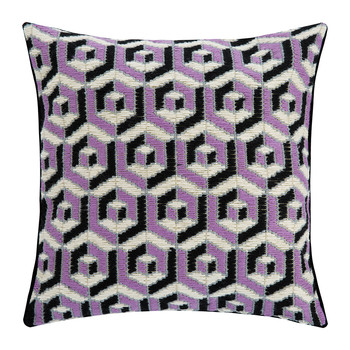 Bargello Cushion - 40x40cm - Hex