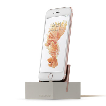 iPhone Lightning Charging Dock+ - Stone