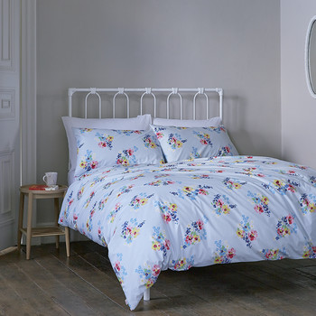 Painted Posy Duvet Cover