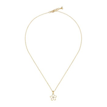 Betje Mini Crystal Bloom Necklace - Gold/Crystal
