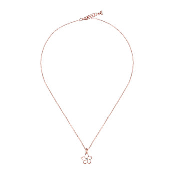 Betje Mini Crystal Bloom Necklace - Rose Gold/Crystal