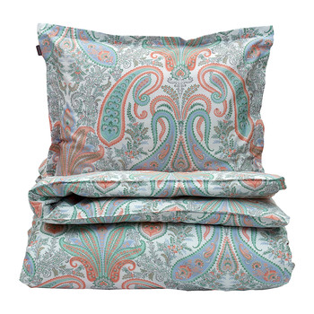 Key West Paisley Duvet Cover - Peachy Keen