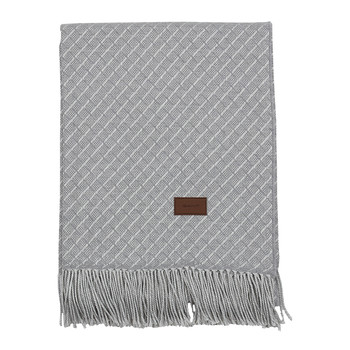 Cross Throw - 130x180cm - Grey