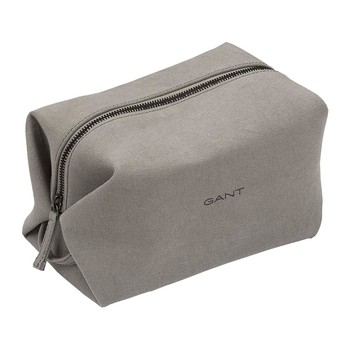 Canvas Cosmetics Bag - Grey