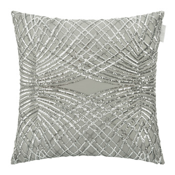 Esta Bed Cushion - 50x50cm - Silver
