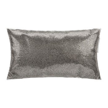 Aurora Bed Cushion - 18x32cm - Pewter