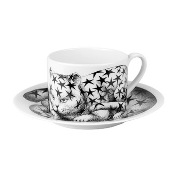 High Fidelity Teacup & Saucer - Stellato