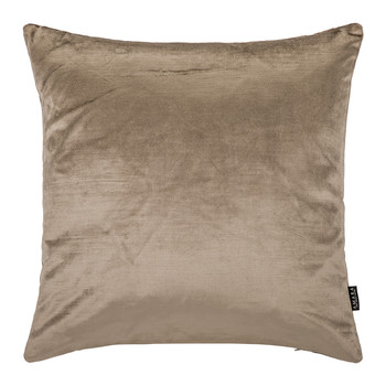 Cotton Velvet Cushion - 45x45cm - Mink
