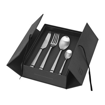 Hune Flatware Set - Brushed Satin