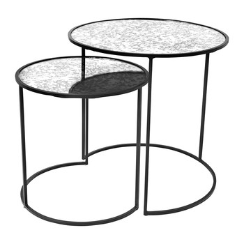 Stends Table - Black - Set of 2