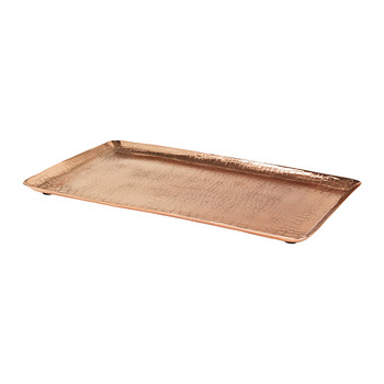Crocodile Candle Plate - Rectangular - Copper