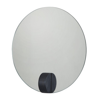 Round Full Moon Mirror - Royal Blue