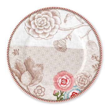 Spring To Life Salad Plate - Cream