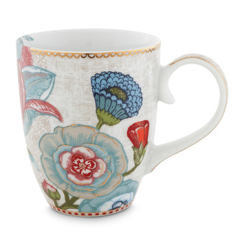 Spring To Life Mug - Large - Cream