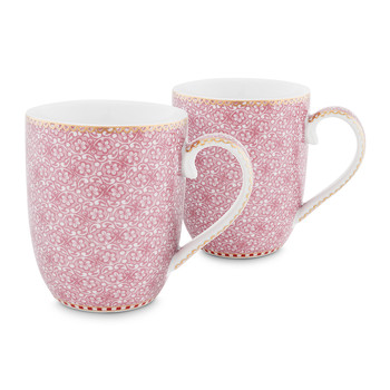 Spring To Life Mug - Small - Set of 2 - Pink