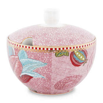 Spring To Life Sugar Bowl - Pink
