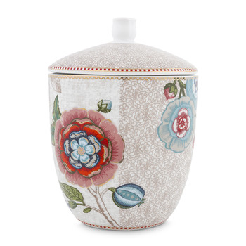 Spring To Life Storage Jar - Cream