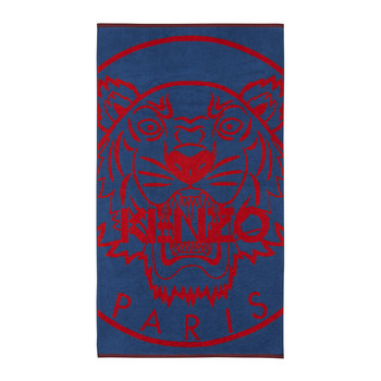New Tiger Beach Towel - Blue