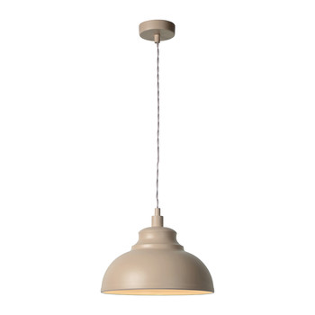 Isla Taupe Pendant Light