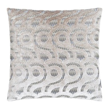 Latticino Cushion - 40x40cm - Natural