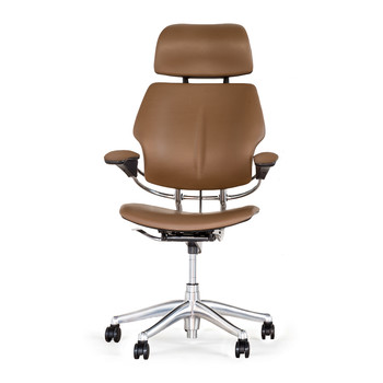 Freedom Headrest Office Chair - Bizon Leather - Miso