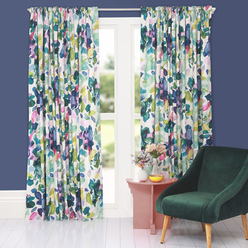 Palette Pencil Pleat Curtains