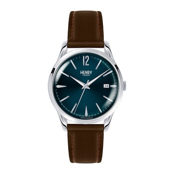 Knightsbridge Brown Leather Strap Watch