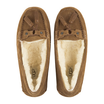 Women's Litney Slippers - Chestnut