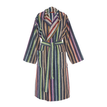 Teseo Hooded Bathrobe - 100