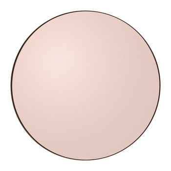 Circum Round Wall Mirror - Rose Gold