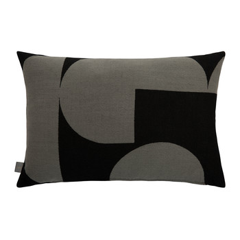 Forma Pillow - 40x60cm - Gray & Black