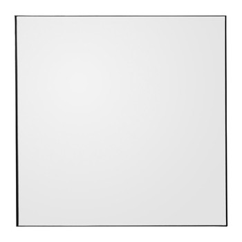 Quadro Square Wall Mirror - Black