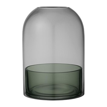 Tota Hurricane Lamp- - Black & Forest