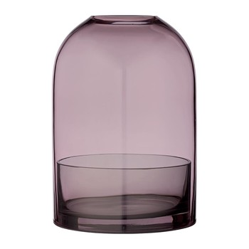 Tota Hurricane Lamp - Rose & Black