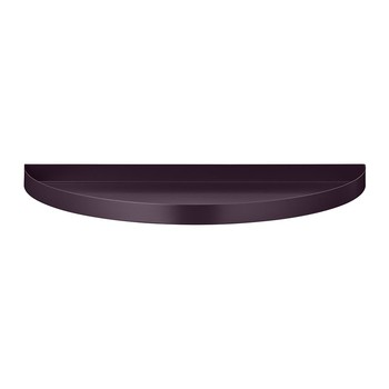 Unity Large Half Circle Tray - Bordeaux