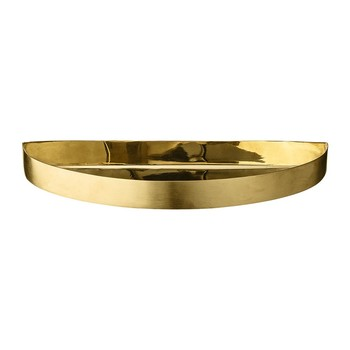 Unity Small Half Circle Tray - Brass